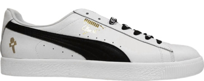 Puma Clyde WWE Undertaker White White/Gold-Black 364669-01