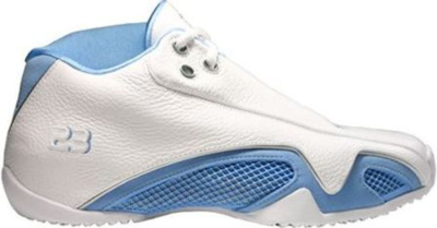 Jordan 21 OG Low University Blue White/University Blue-Metallic Silver 313529-142