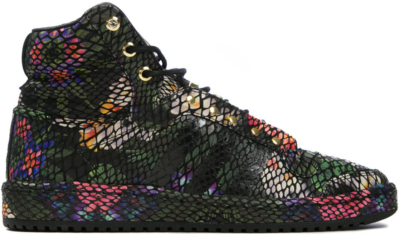 adidas Top Ten Hi Floral Snake Multi-Color/Core Black S84907