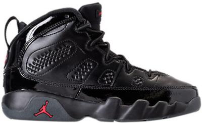 Jordan 9 Retro Bred Patent (PS) Black/University Red-Anthracite 401811-014