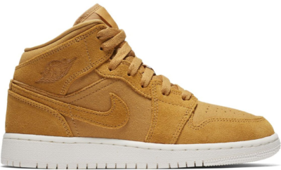Jordan 1 Mid Golden Harvest Sail (GS) Golden Harvest/Sail 554725-725