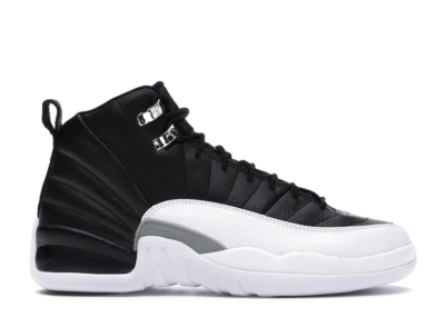 Jordan 12 Retro Playoffs 2012 (GS) Black/Varsity Red-White 153265-001