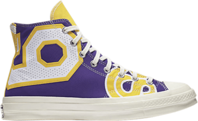 Converse Chuck Taylor All-Star 70s Hi Gameday Los Angeles Lakers Purple/Gold 159427C