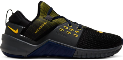 Nike Free X Metcon 2 Michigan Black/Iron Grey-College Navy-Amarillo CQ8638-001