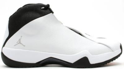 Jordan 21 PE White Black White/Metallic Silver-Black-Taxi 314303-101