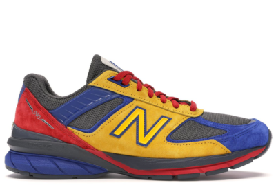 New Balance 990v5 Shoe City x Eat Yellow/Blue-Red M990EAT5