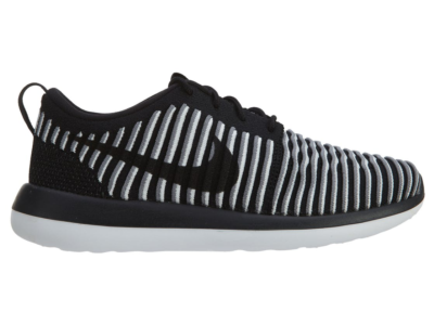 Nike Roshe Two Flyknit Black Black White (W) 844929-001