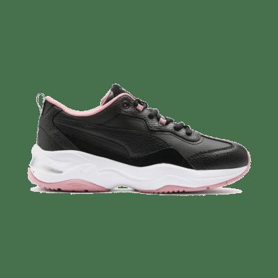 Puma Cilia Lux trainingsschoenen voor Dames Roze / Zwart / Wit 370282_01