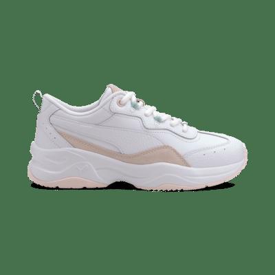 Puma Cilia Lux trainingsschoenen voor Dames Roze / Groen / Wit 370282_09