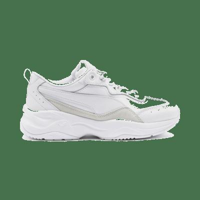 Puma Cilia Lux trainingsschoenen voor Dames Zilver / Wit 370282_05
