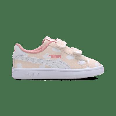 Puma Smash V2 babyschoenen Roze / Wit 371194_01