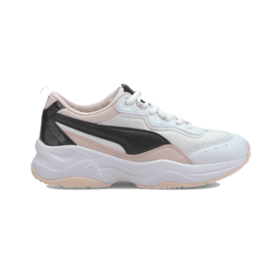 Puma Cilia Cheetah Youth sportschoenen Wit / Roze / Zwart 372001_01