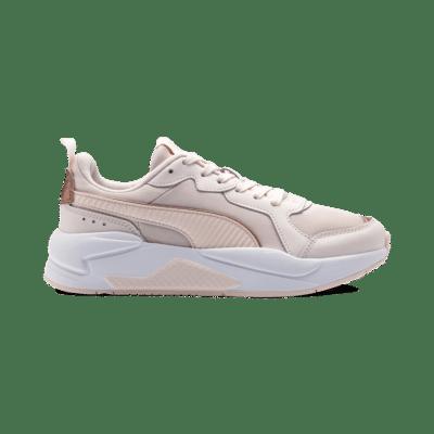 Puma X-Ray Metallic sportschoenen voor Dames Roze / Wit / Goud 373072_03