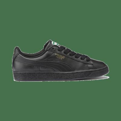 Puma Basket Classic LFS schoenen voor Heren Zwart / Goud 354367_19