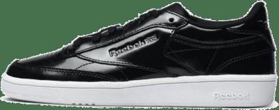 Reebok – W Club C 85 Patent Zwart BS9777