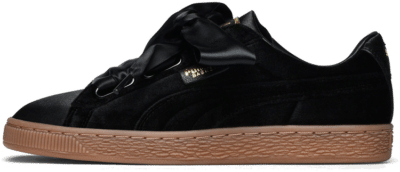 Puma – W Basket Heart Vs Zwart 366731-03