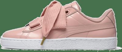 Puma Basket Heart Patent Pink 363073 11