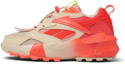 Reebok Aztrek Double Mix Trail Schoenen Light Sand / Neon Red / Neon Lime EF9140