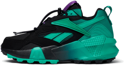 Reebok Aztrek Double Mix Trail Schoenen Black / Emerald / Regal Purple EF9139