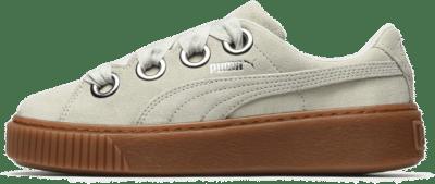 Puma – W Platform Kiss Suede Blauw 366461-02