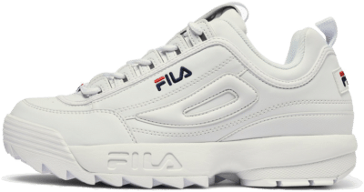 Fila Men Heritage Disruptor Low Wit 1010262.1FG-WHITE