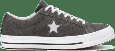 Converse One Star Vintage Suede Low Top Black 165034C