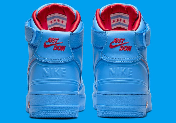 Nieuw Nike Air Force 1 High Blue Just Don Sneakerbaron Nl