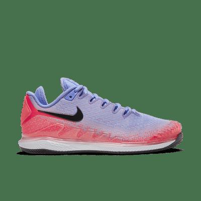 NikeCourt Air Zoom Vapor X Knit Hardcourt Blauw AR8835-400
