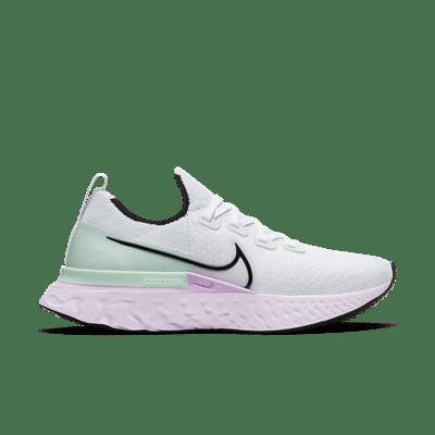 Nike React Infinity Run Flyknit White Iced Lilac (W) CD4372-100