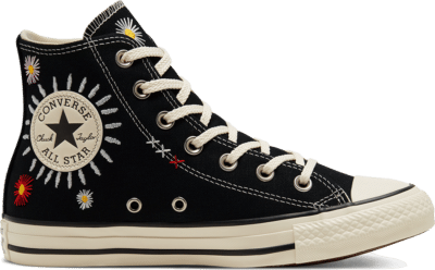Converse Self-Expression Chuck Taylor All Star High Top voor dames Black/Natural Ivory/Black 567993C