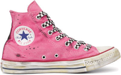 Converse Chuck Taylor All Star Space Race High Top Pink 165754C