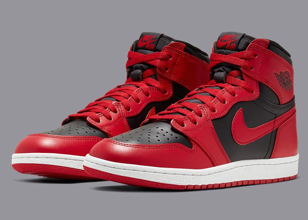 Officiële foto's Air Jordan 1 Hi '85 varsity red