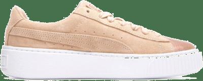 Puma Wmns Suede Platform LunaLux Cream Tan  366111-02
