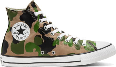 Converse Chuck Taylor All Star High Top Archival Camo  166714C