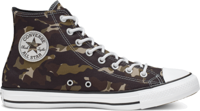 Converse Unisex Allover Camo Chuck Taylor All Star High Top Black 165915C