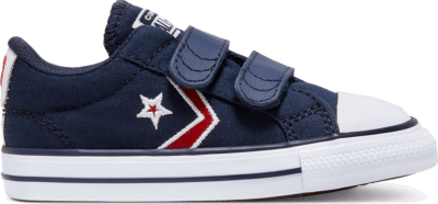 Converse Easy-On Star Player Low Top Schoen Obsidian/University Red/White 766966C