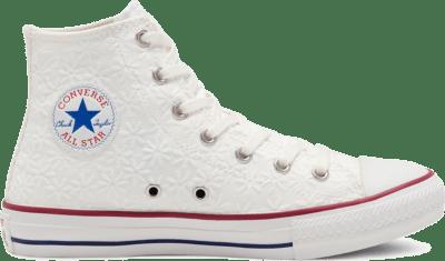 Converse CTAS HI WIT/GARNET/MIDNIGHT NAVY White 668030C