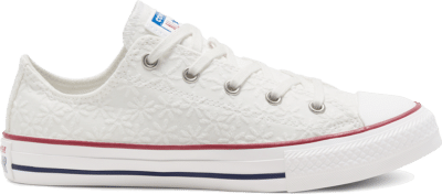 Converse Little Miss Chuck Taylor All Star Low Top White 668031C