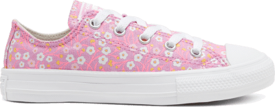 Converse Ditsy Floral Chuck Taylor All Star Low Top Schoen Peony Pink/Topaz Gold/White 666881C