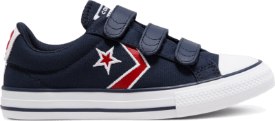 Converse Easy-On Star Player Low Top Schoen Obsidian/University Red/White 666960C