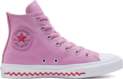 Converse CTAS HI PEONY PINK/UNIVERSITY RED Peony Pink/University Red 567166C