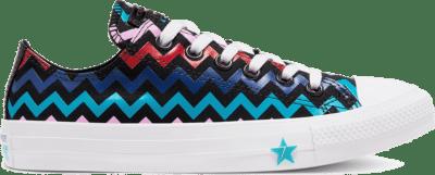 Converse VLTG Chuck Taylor All Star Low Top Schoen Black/Peony Pink/Rapid Teal 567102C
