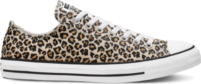 Converse Chuck Taylor All Star Leopard Low Top Black 166260C