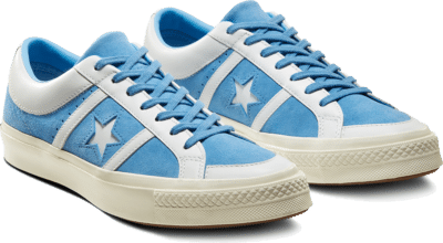 Converse Collegiate Suede One Star Academy Low Top Bright Blue/White/Egret 167134C