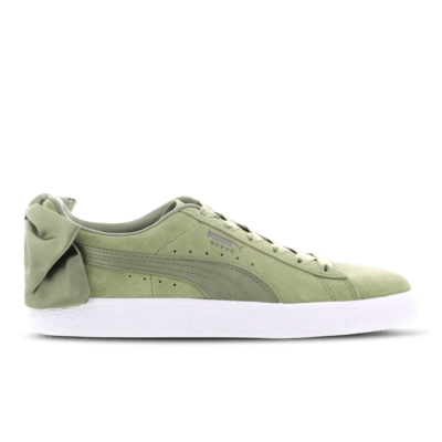 Puma Suede Bow Olive 367317 16