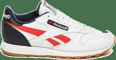 Reebok Classic Leather Schoenen White / Collegiate Navy / Radiant Red EF7827