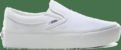 Vans Wmns Classic Slip-On Platform 'White' White VN0A3JEZW00
