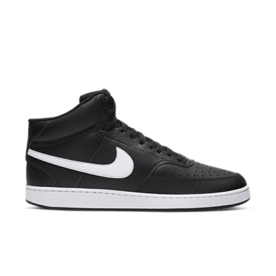 Nike Court Vision Mid Zwart CD5466-001