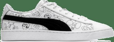 Puma x Tyakasha Basket White  370125-01