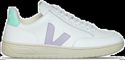 """Veja V-12 Leather """"White & Turquoise"""" XDW022154"""